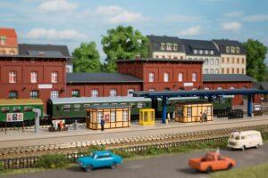 Auhagen 13343 <br/>Bahnhofsausstattung