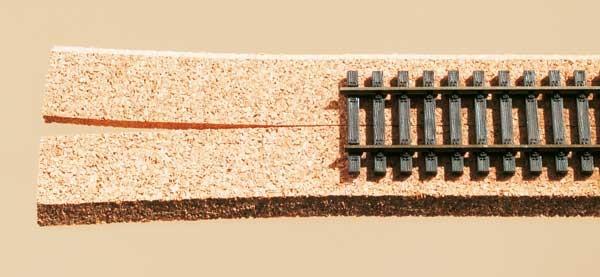 Auhagen 44563 <br/>Gleisbettung, Kork, für Schienen