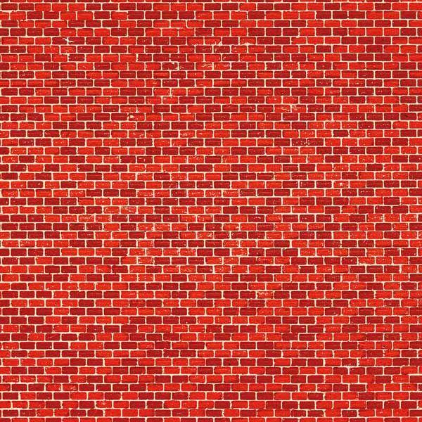 Auhagen 50104 <br/>Dekorpappen Ziegelmauer rot