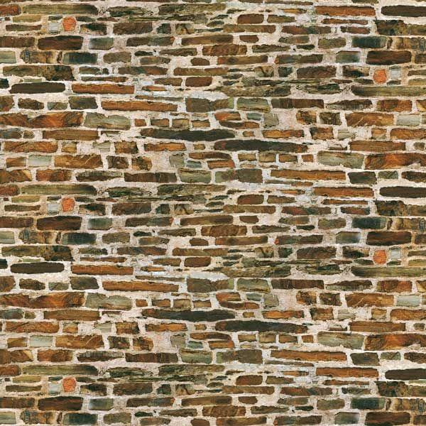 Auhagen 50115 <br/>Dekorpappen Kalksteinmauer