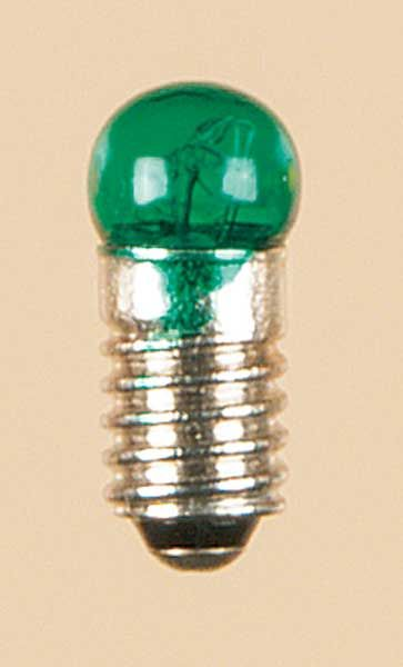 Auhagen 56782 <br/>Lampe mit Schraubsockel grün lose Kugel, 1 Stück