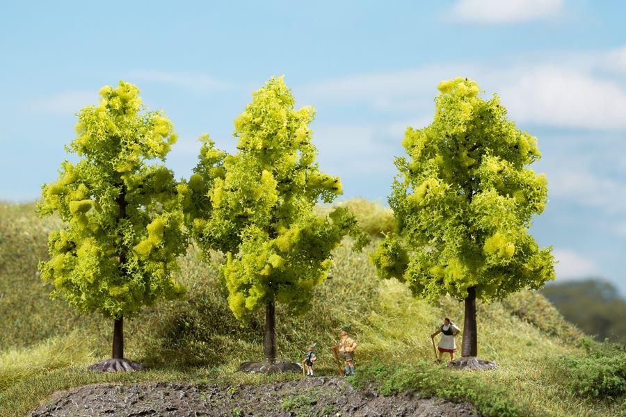 Auhagen 70937 <br/>Laubbäume hellgrün 11 cm