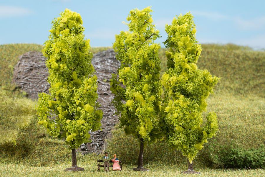 Auhagen 70939 <br/>Laubbäume hellgrün 15 cm