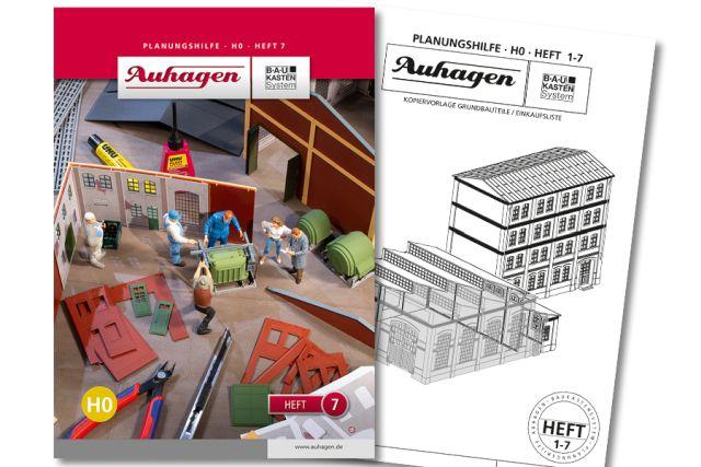 Auhagen 80007 <br/>Planungshilfe - Heft 7