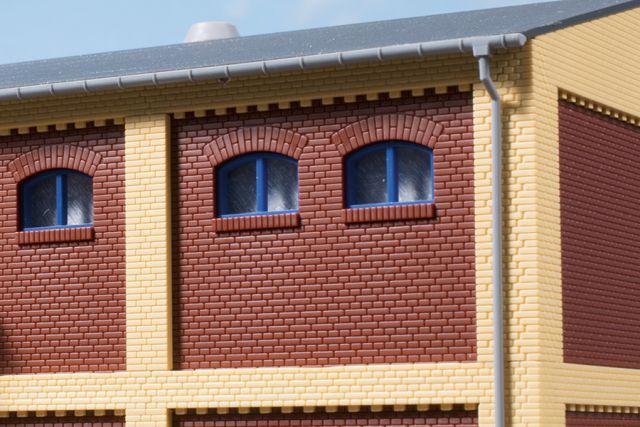 Auhagen 80218 <br/>Fenster M blau 1