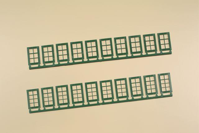 Auhagen 80224 <br/>Fenster Q, R grün