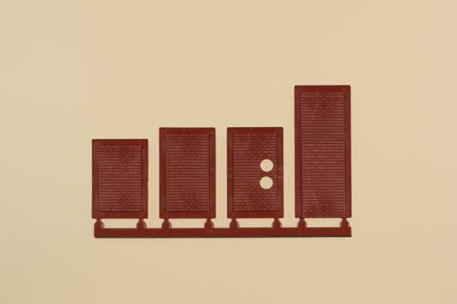 Auhagen 80225 <br/>Blindfenster rot 1