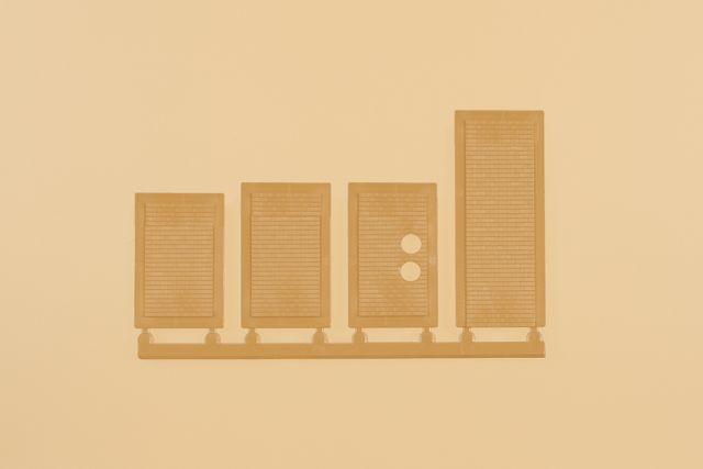 Auhagen 80226 <br/>Blindfenster gelb