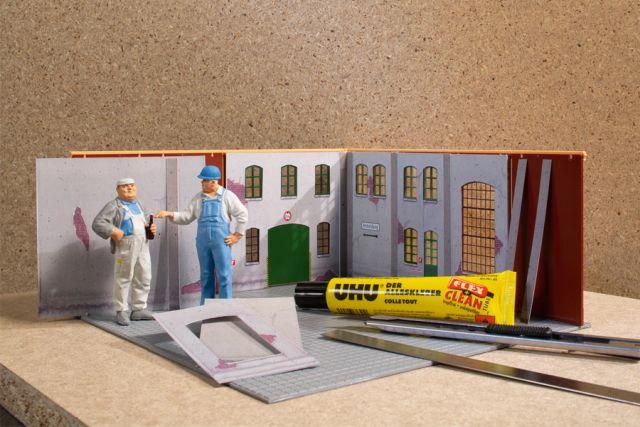 Auhagen 80353 <br/>Innenwände aus Karton 1