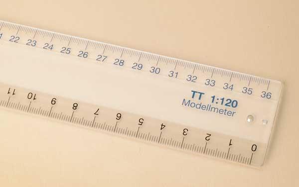 Auhagen 99005 <br/>Maßstabslineal TT