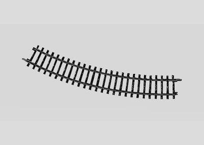 Märklin 2221 <br/>Gleis, gebogen, r 360 mm, 30°