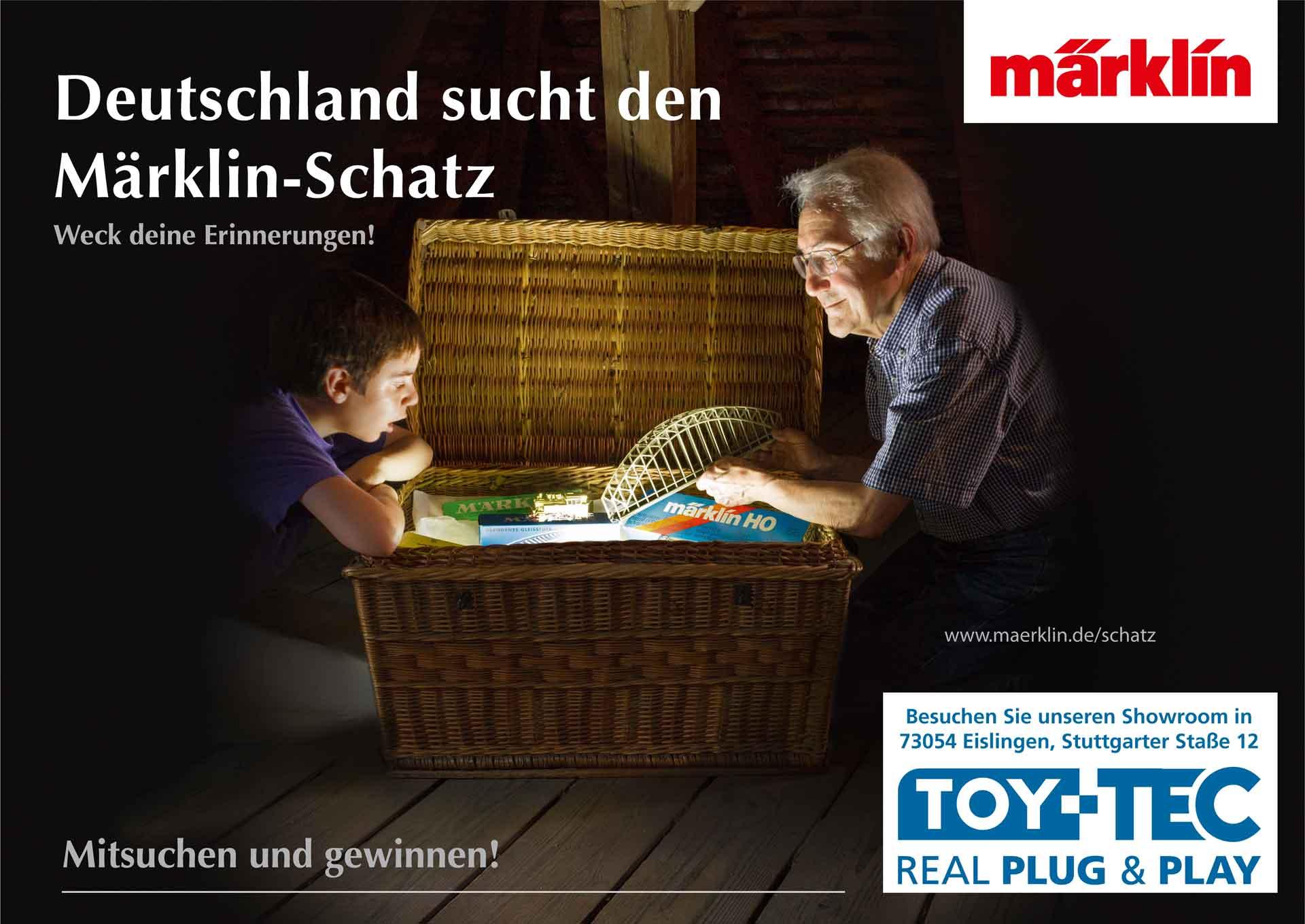 TOY-TEC: Deutschland sucht den Märklin Schatz